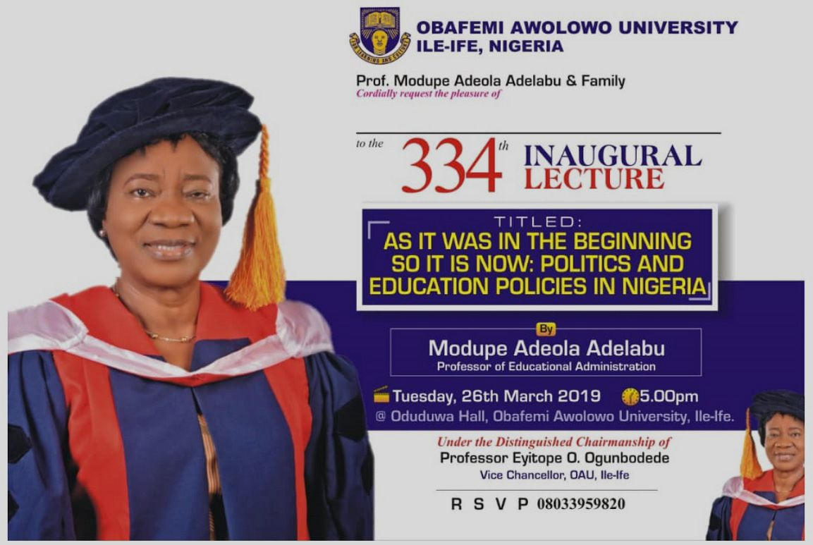As It Was In the Beginning So It is Now: Politics and Education Policies in Nigeria