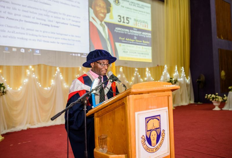 OAU Don advocates Agricultural Technology Adoption as