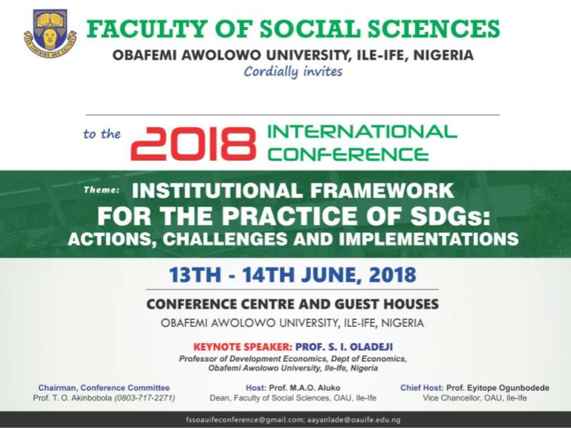 Faculty of Social Sciences 2018 international conference