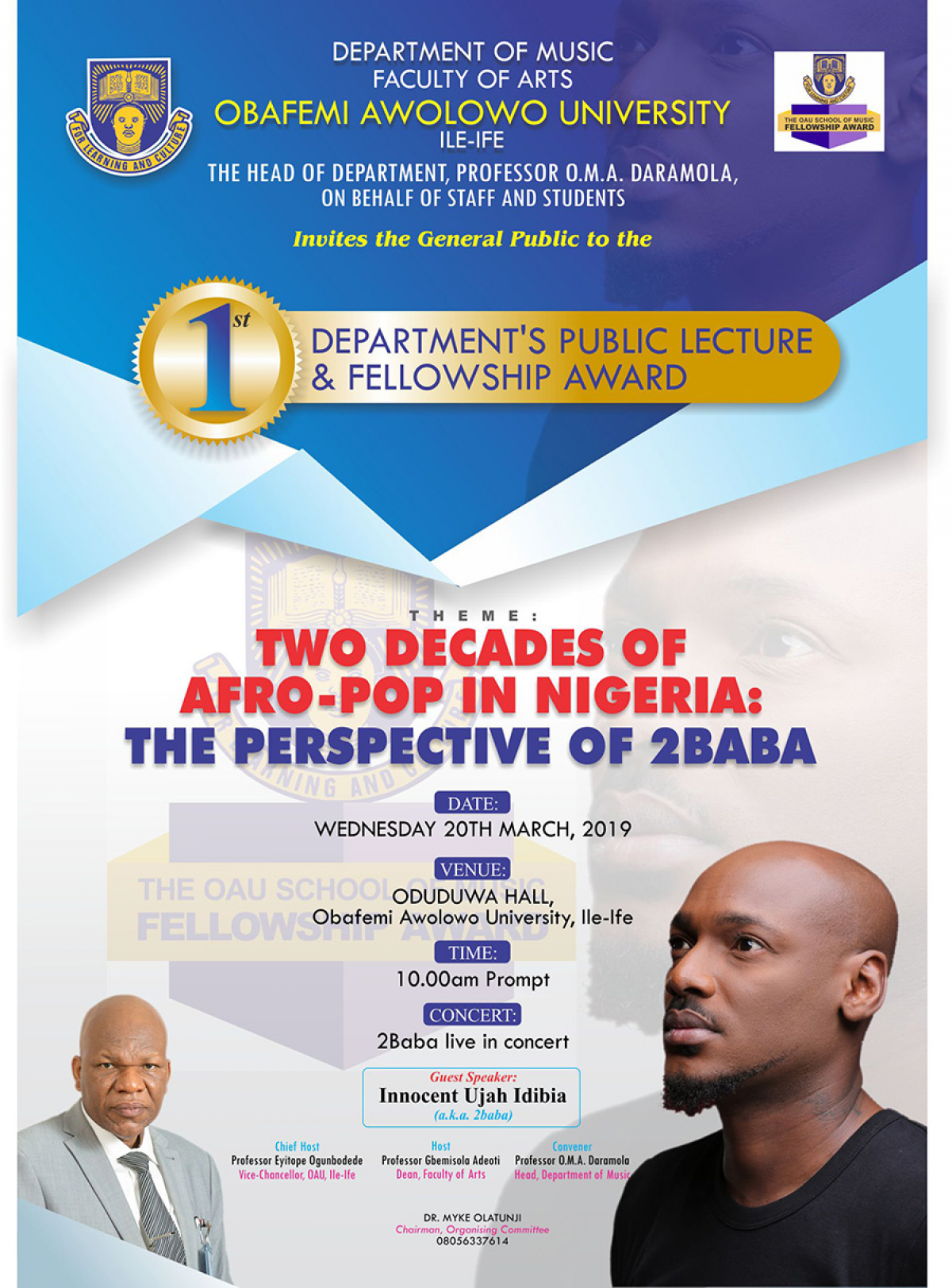 Two Decades of Afro-Pop in Nigeria: The Perspective of 2Baba