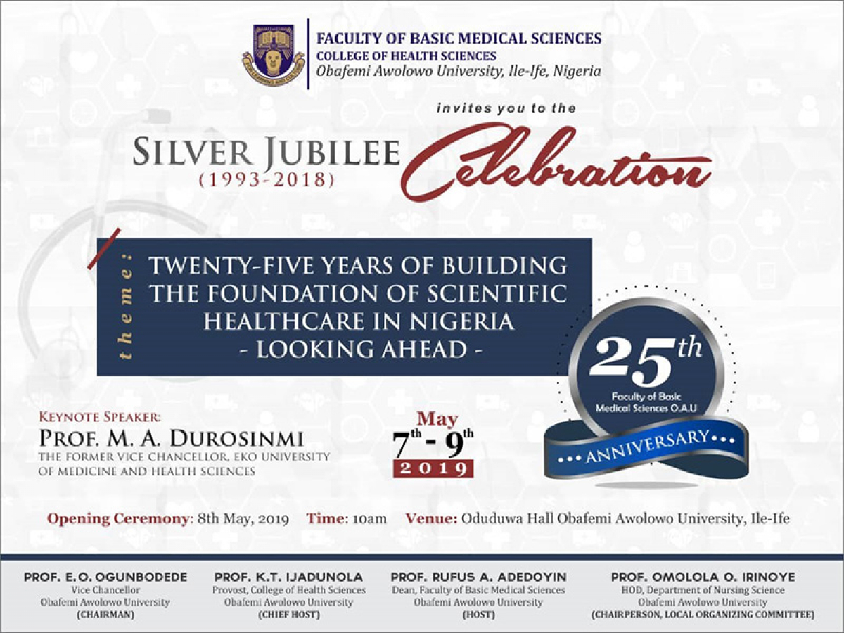 Faculty of Basic Medical Sciences Celebrates Silver Jubilee