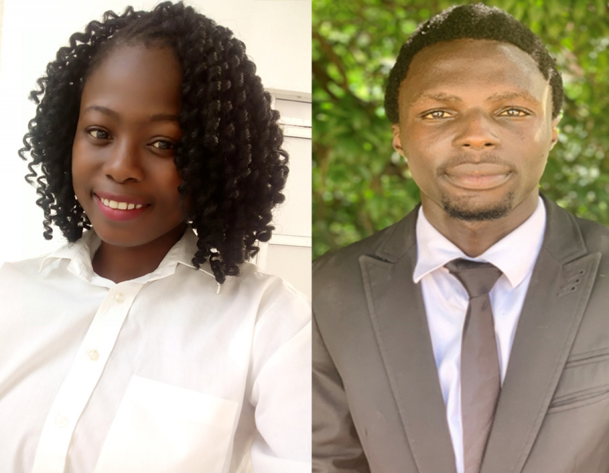Jaiyeola Faith and Areyemi Victor Win CIS Scholarship Award